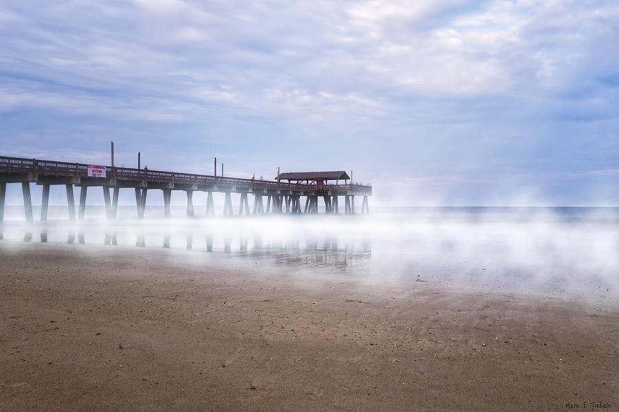 Tybee Island Photograph - Tybee Island Pier by Mark E Tisdale