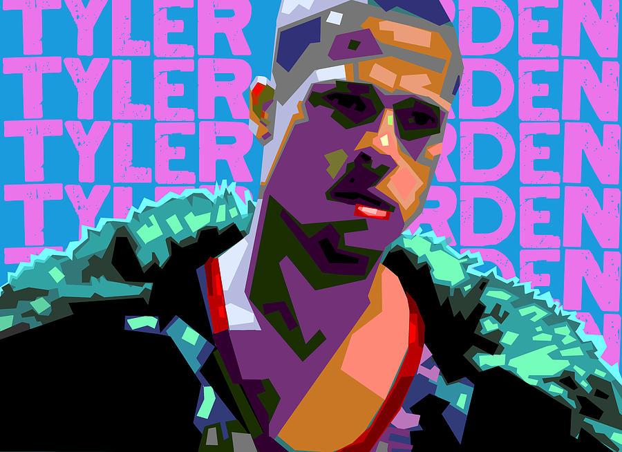 Tyler Durden 1 Digital Art