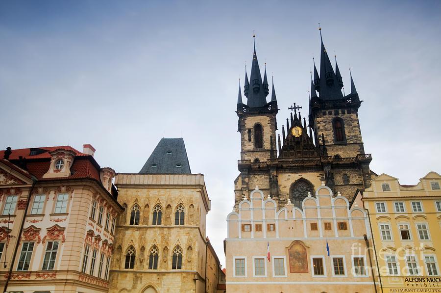 Architecture Photograph - Tyn Church In Prague by Michal Bednarek