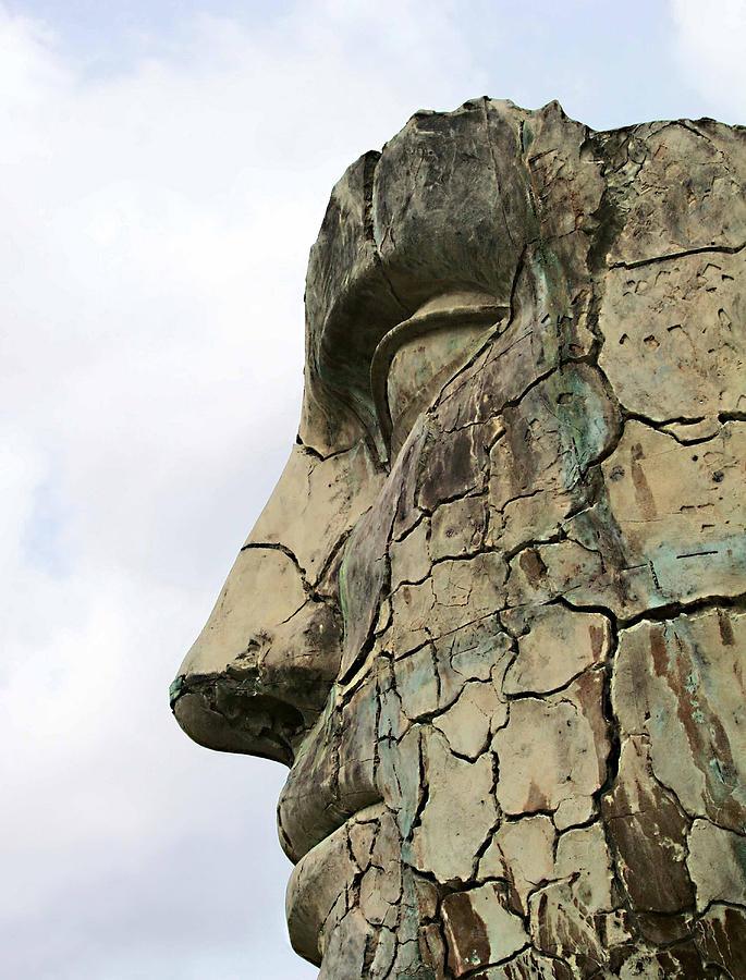 Giardino Di Boboli Photograph - Tyndareus Cracked 1 by Ellen Henneke