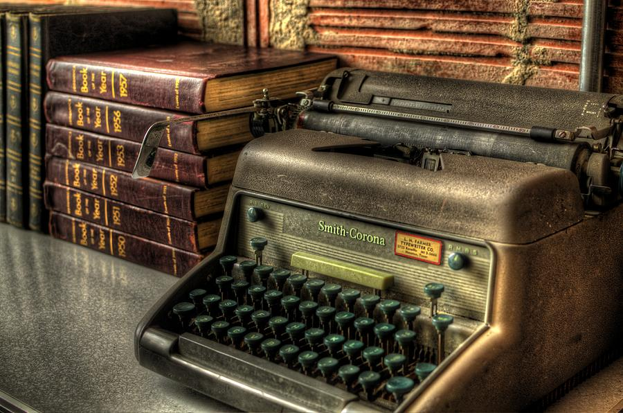 Typewriter Photograph - Typewriter by David Morefield