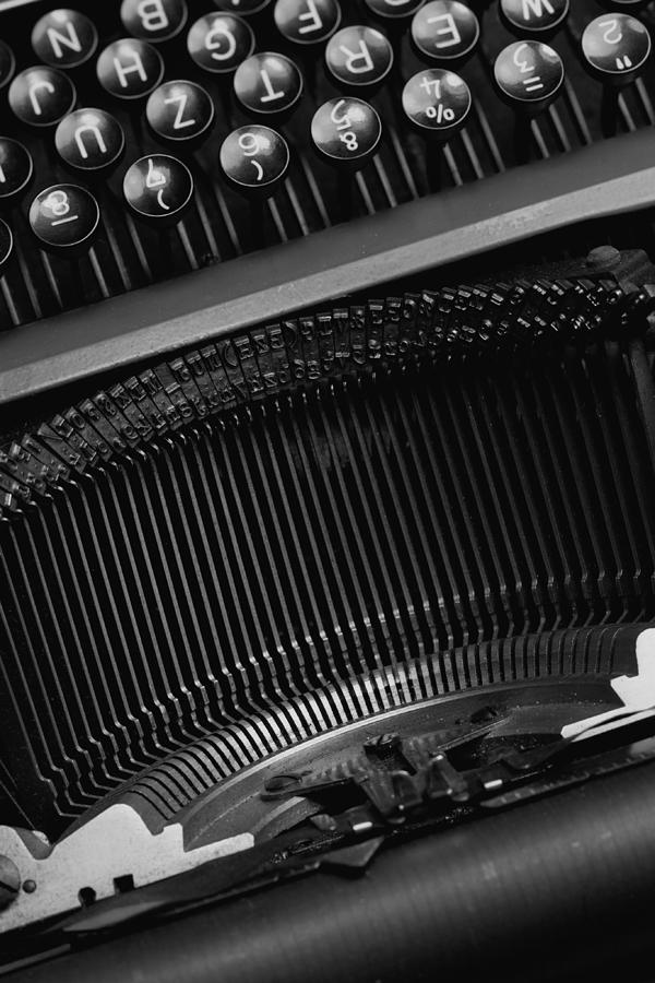 Schreibmaschinentasten Photograph - Typewriter  by Falko Follert