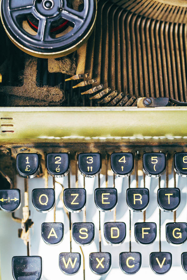Typewriter Old Photograph by Deimagine
