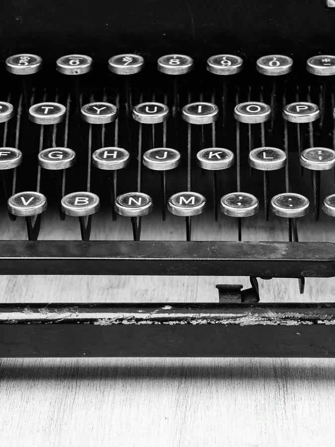 Author Photograph - Typewriter Triptych Part 2 by Edward Fielding