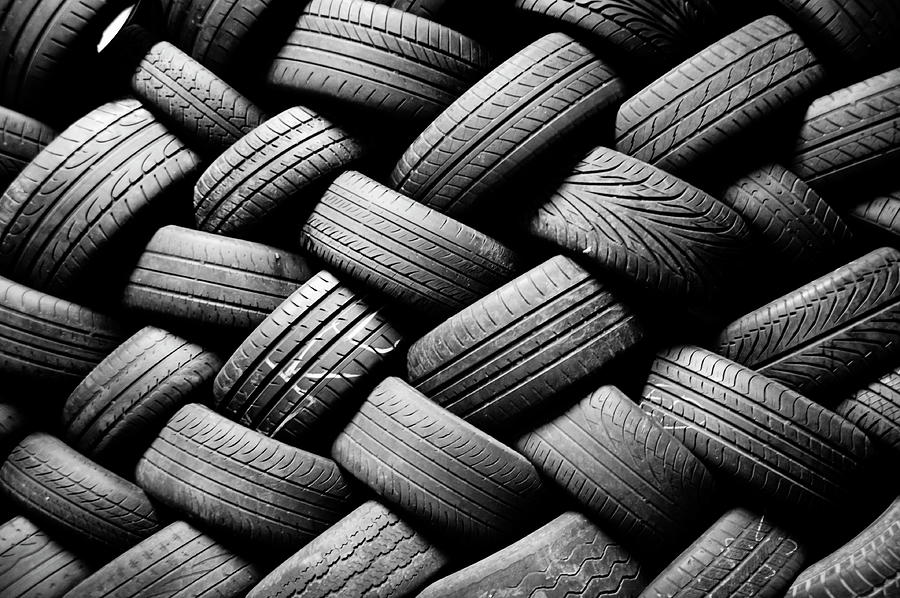 Tyres Photograph by See Me On Flickr Account-metal543
