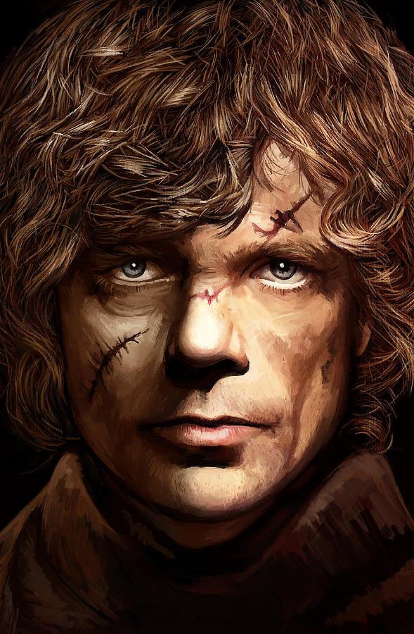 Tyrion Lannister Peter Dinklage Game Of Thrones Artwork