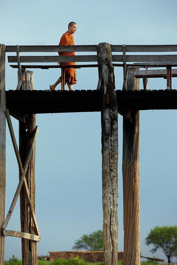 U Beins Bridge Photograph by Zhang Bo