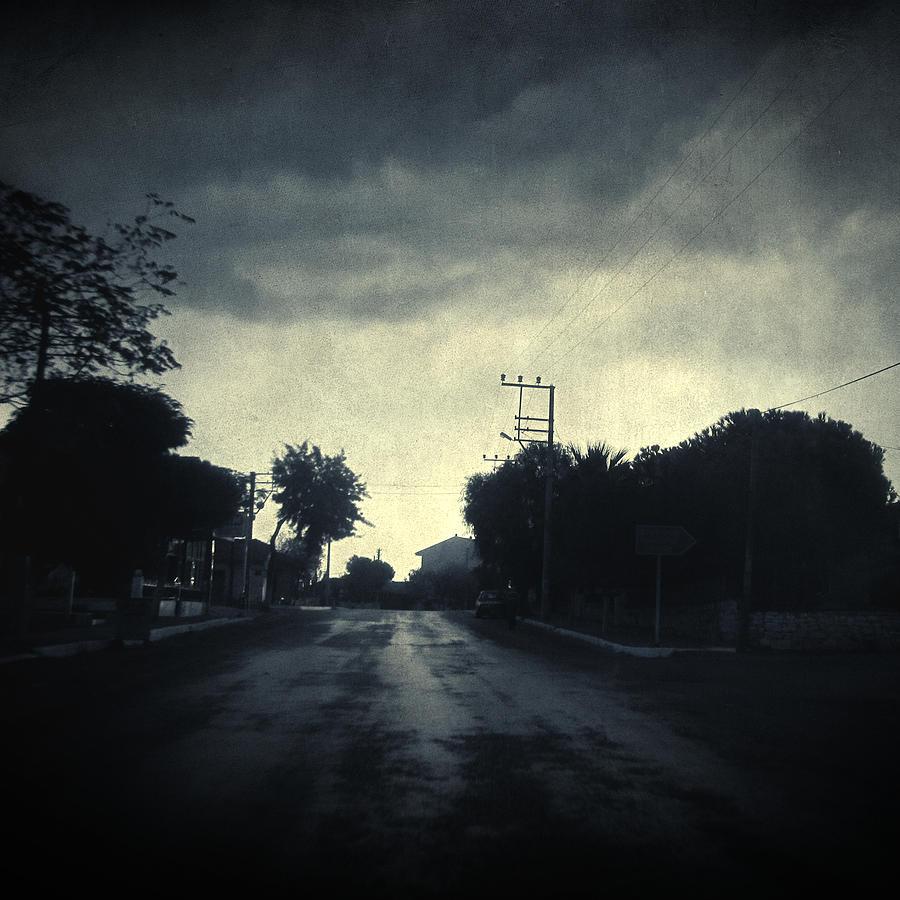 Road Photograph - U-turn by Taylan Apukovska