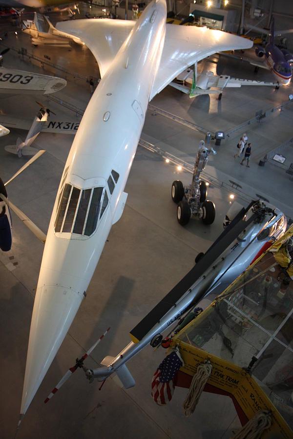 Udvar Photograph - Udvar-hazy Center - Smithsonian National Air And Space Museum Annex - 1212105 by DC Photographer