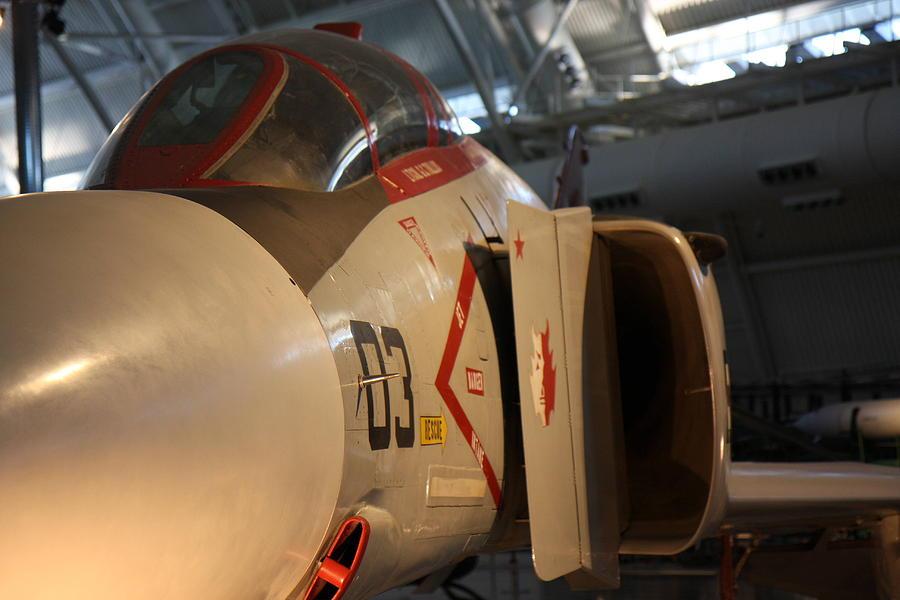 Udvar Photograph - Udvar-hazy Center - Smithsonian National Air And Space Museum Annex - 121233 by DC Photographer
