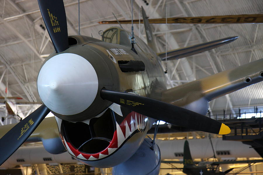 Hazy Photograph - Udvar-hazy Center - Smithsonian National Air And Space Museum Annex - 12124 by DC Photographer