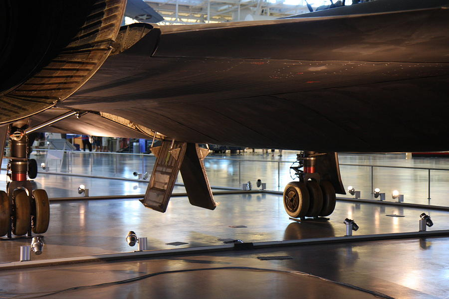 Hazy Photograph - Udvar-hazy Center - Smithsonian National Air And Space Museum Annex - 121246 by DC Photographer