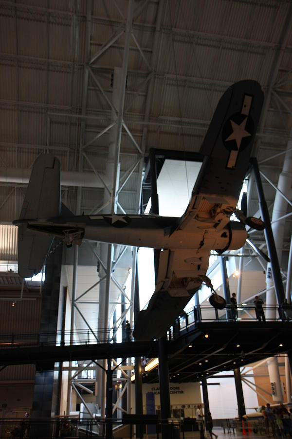 Hazy Photograph - Udvar-hazy Center - Smithsonian National Air And Space Museum Annex - 121248 by DC Photographer