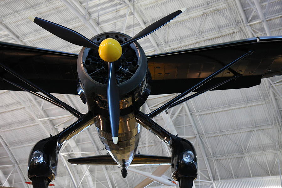 Hazy Photograph - Udvar-hazy Center - Smithsonian National Air And Space Museum Annex - 121249 by DC Photographer
