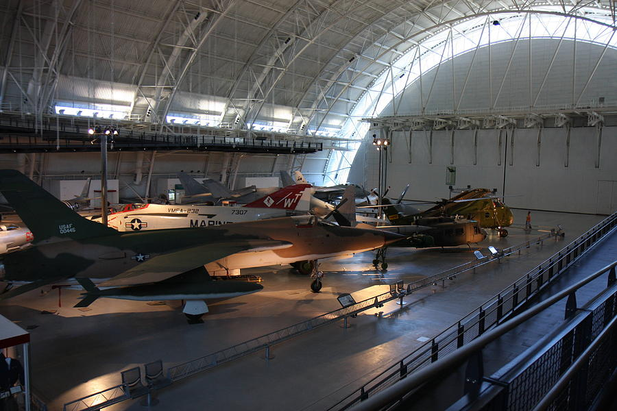 Hazy Photograph - Udvar-hazy Center - Smithsonian National Air And Space Museum Annex - 12125 by DC Photographer