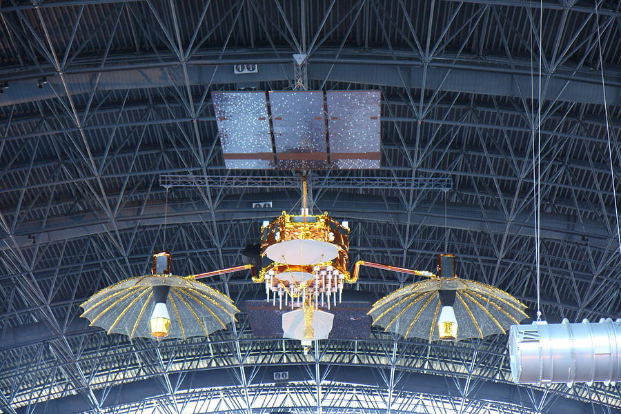 Hazy Photograph - Udvar-hazy Center - Smithsonian National Air And Space Museum Annex - 121256 by DC Photographer