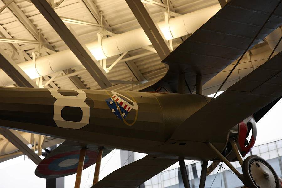 Hazy Photograph - Udvar-hazy Center - Smithsonian National Air And Space Museum Annex - 121294 by DC Photographer