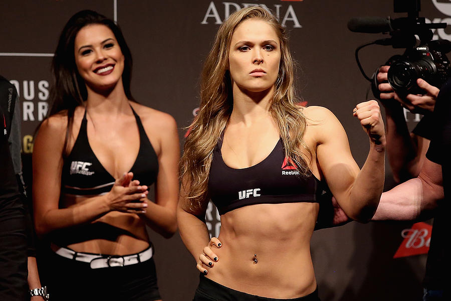 UFC 190 Weigh-in Photograph by Matthew Stockman