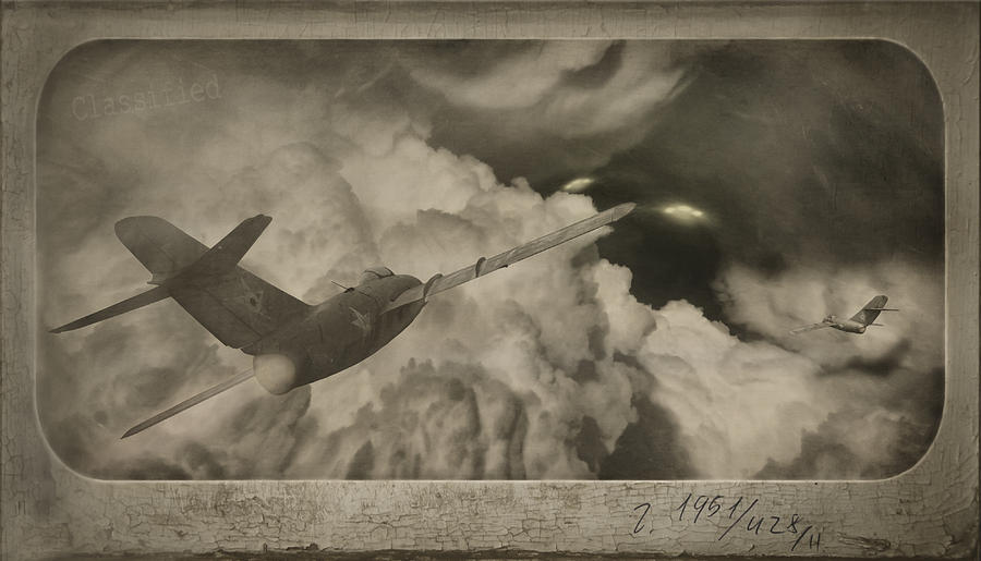 Ufo Digital Art - Ufo-1951 by Akos Kozari