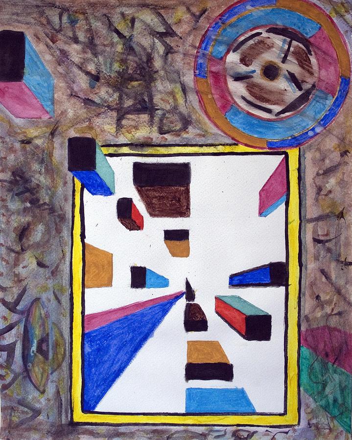 Ufo Painting - Ufo Wormhole by Stormm Bradshaw