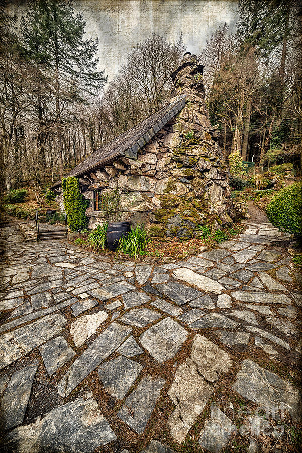 Wales Photograph - Ugly Cottage by Adrian Evans