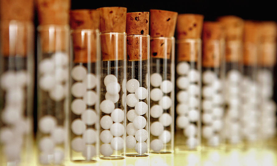 UK Medical Journal Casts Doubt On Homeopathy Photograph by Peter Macdiarmid