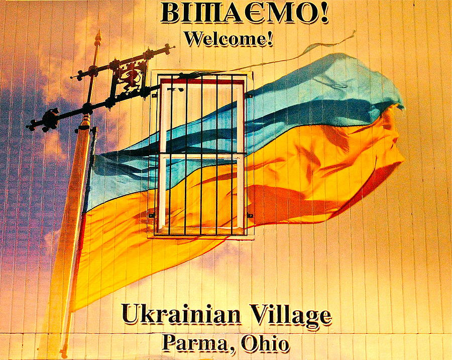 Ukrain Photograph - Ukrainian Village Ohio by Frozen in Time Fine Art Photography