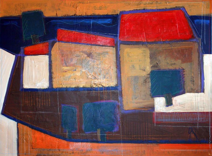 Spn Painting - Ulje Na Platnu 70x100 Cm by Saso  Petrosevski Novak - SPN