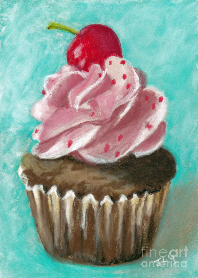Cupcake Painting - Ultimate Cupcake by Jan Gibson