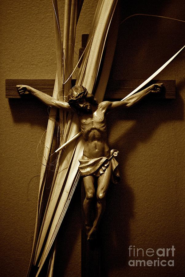 Jesus Photograph - Ultimate Love by Frank J Casella