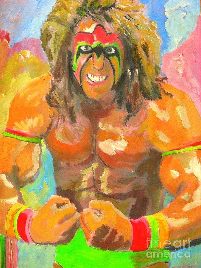 Ultimate Warrior Painting - Ultimate Warrior by John Morris