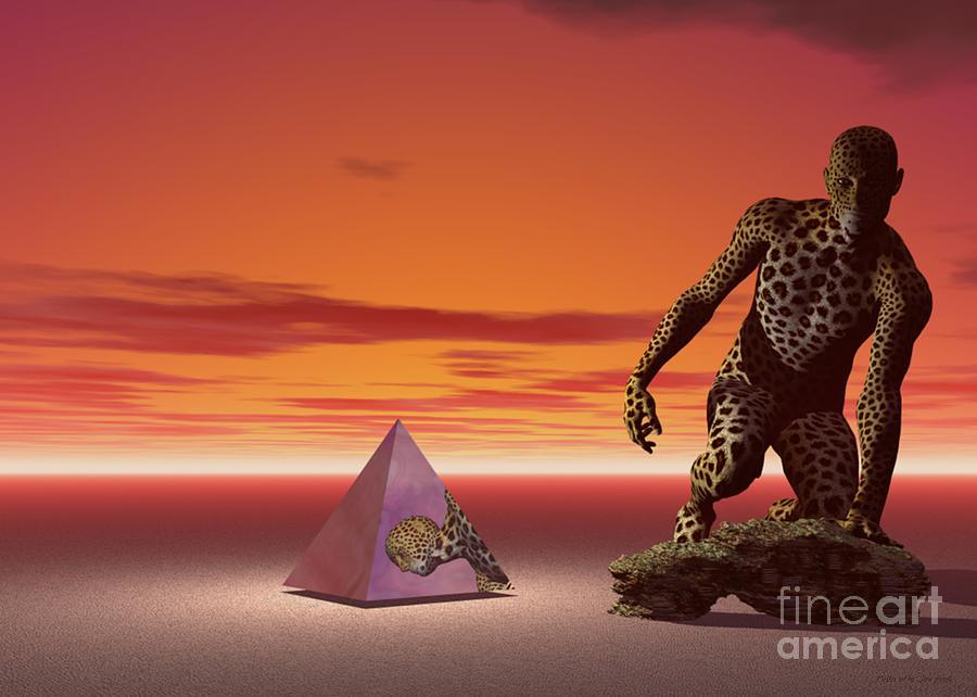 Surrealism Digital Art - Ultimatum - Surrealism by Sipo Liimatainen