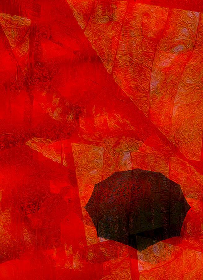 Photo Painting - Umbrella by Jack Zulli