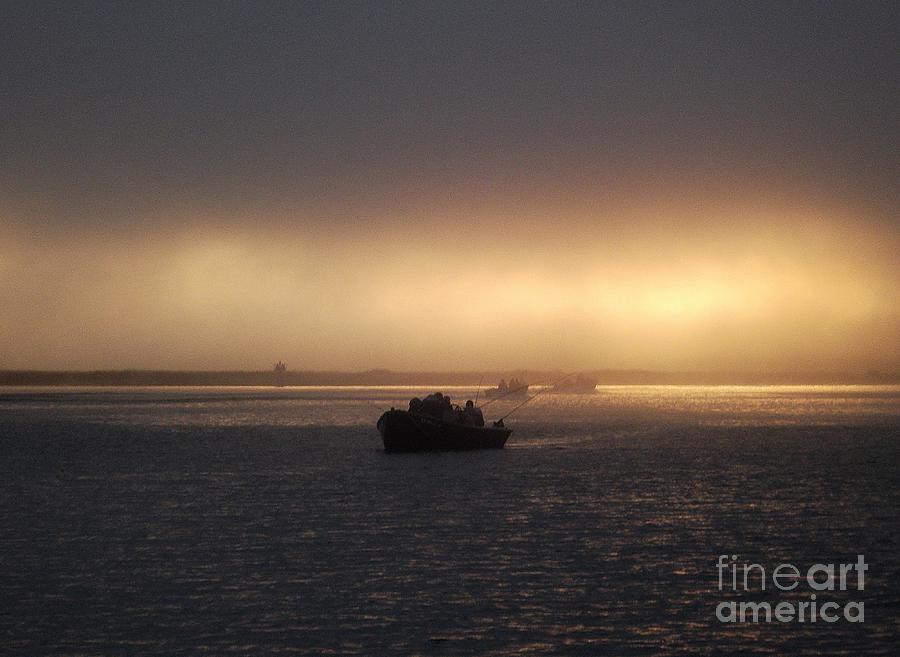 Fishing Photograph - Umpqua River Sunrise by Erica Hanel