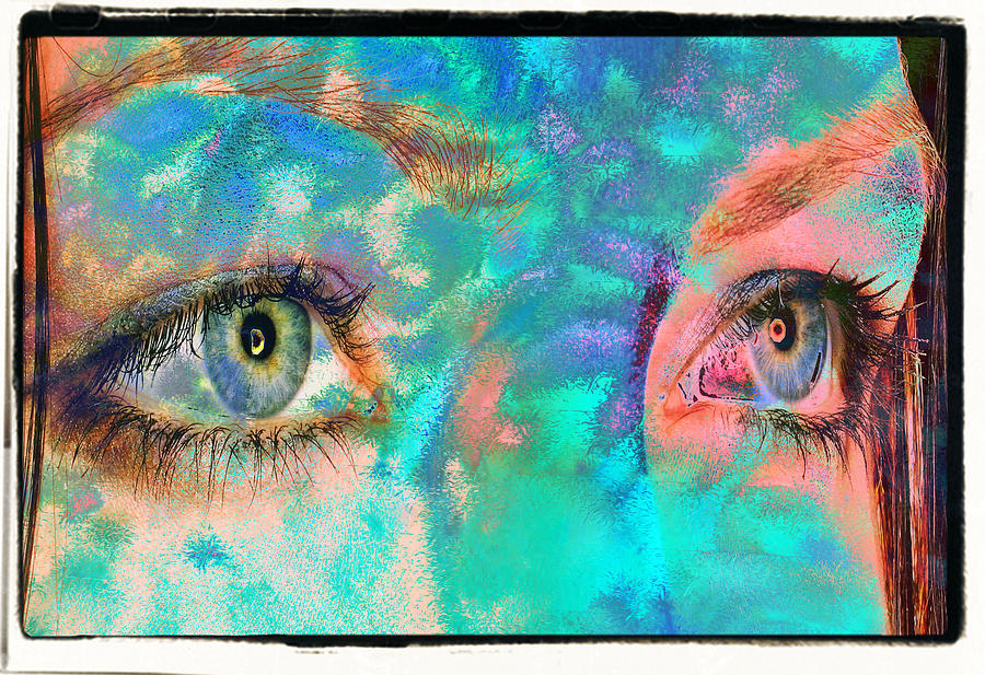Mateo Brigande Digital Art - Un Certain Regard by Mateo Brigande