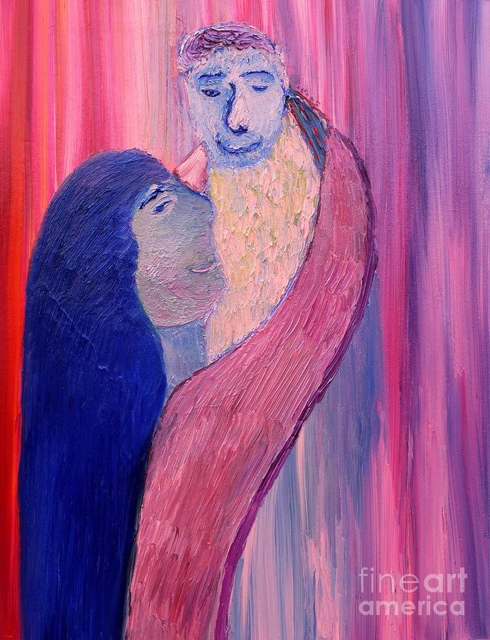 Unbreakable Bond Painting - Unbreakable Bond by Vadim Levin