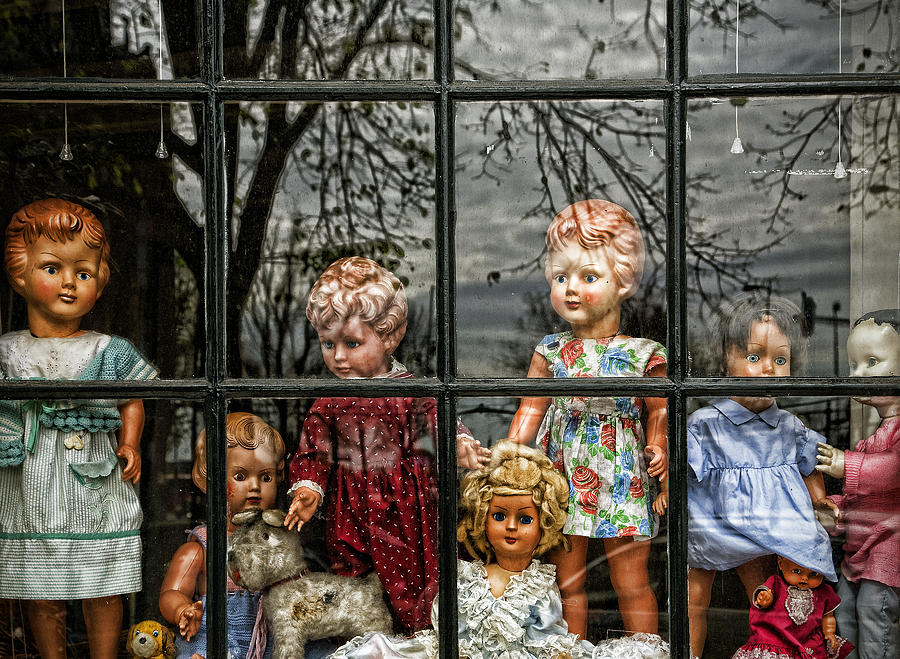 Dolls Photograph - Uncertainty by Joanna Madloch