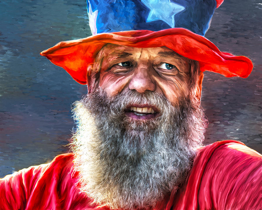 Uncle Sam by Rick Mosher
