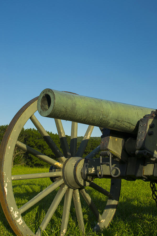 Cannon Photograph - Under A Blue Sky by Michael Williams
