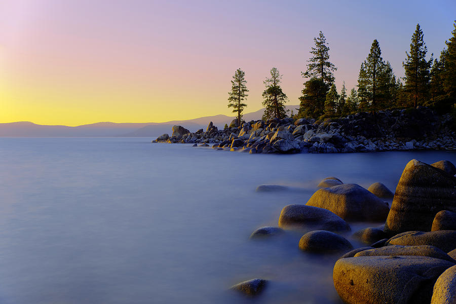 Lake Tahoe Photograph - Under Clear Skies by Chad Dutson