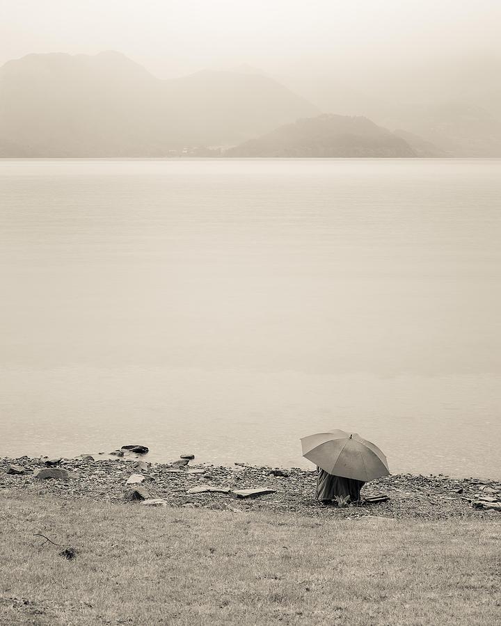 Lake Wakatipu Photograph - Under My Umbrella by Cristel Mol-Dellepoort