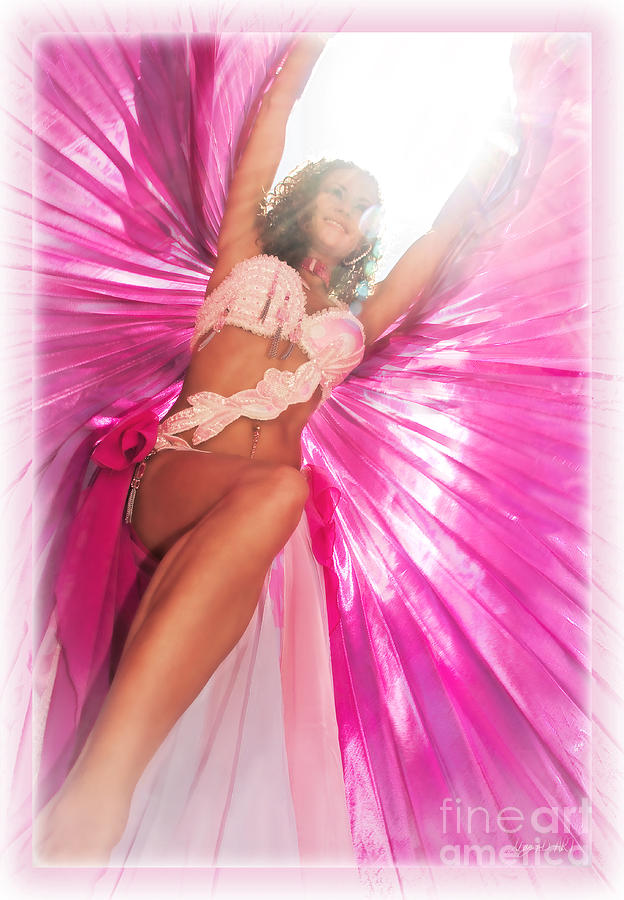 Belly Dance Photograph - Under Myrykas Spell by MAD Art and Circus