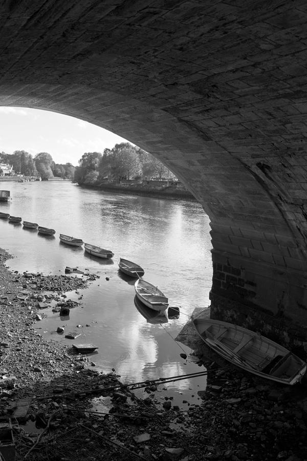 Under Richmond Bridge Photograph