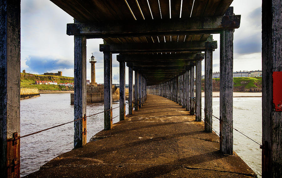 Horizontal Photograph - Under-section Below The West Pier by Panoramic Images