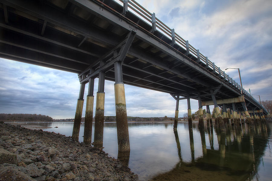 Under The Bridge Photograph - Under The Bridge by Eric Gendron