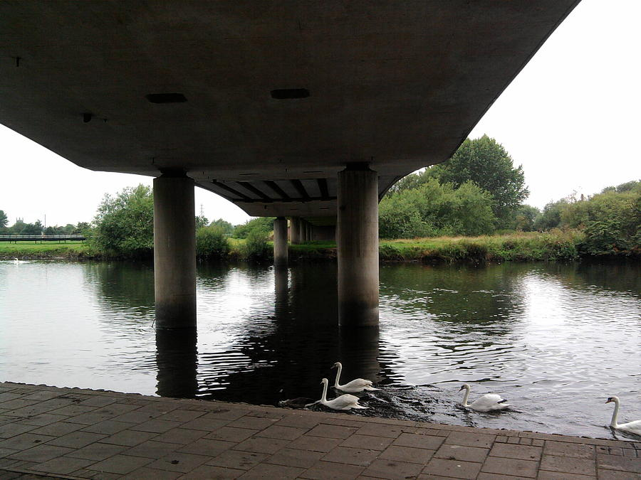 Landscape Photograph - Under The Bridge by Geoff Cooper