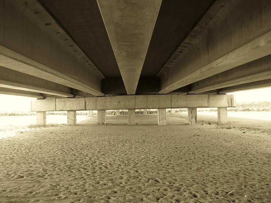Bridge Pyrography - Under The Bridge by Joanne Askew