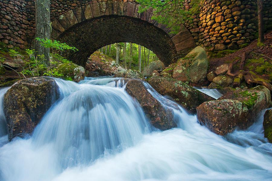 Jordan Stream Photograph - Under The Bridge by Joseph Rossbach