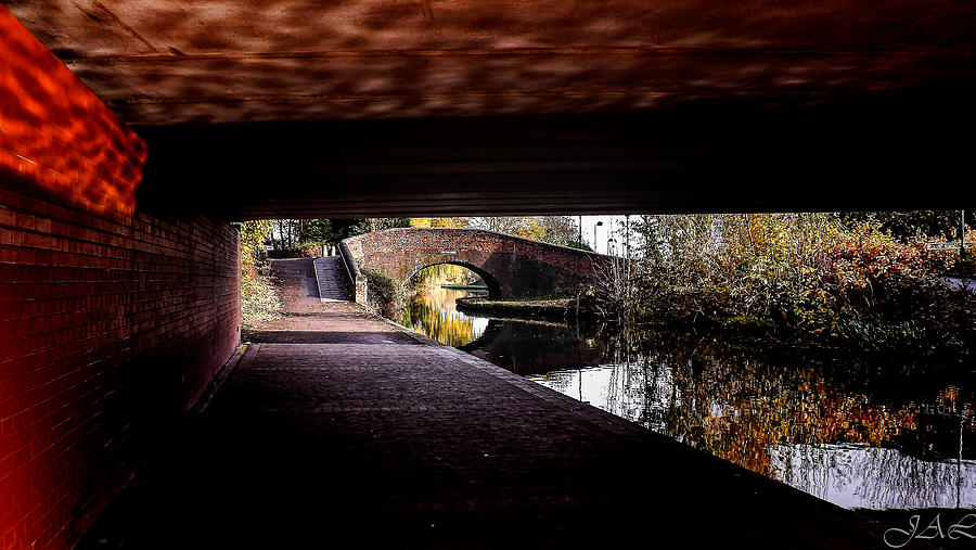 Under The Bridge Photograph - Under The Bridge by Lina Jordaan