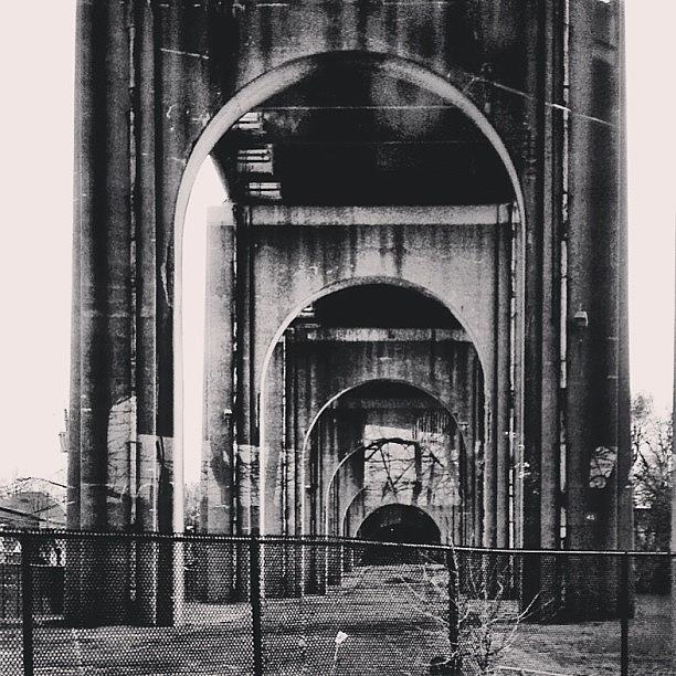 Newyork Photograph - Under The Bridge. #newyork by Matthew Bryan Beck